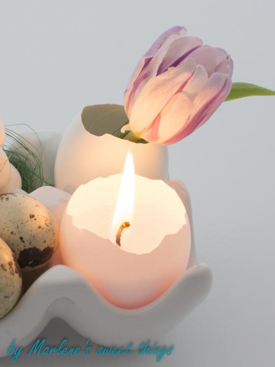 Kerzen Aus Eierschalen Marlenes Sweet Things