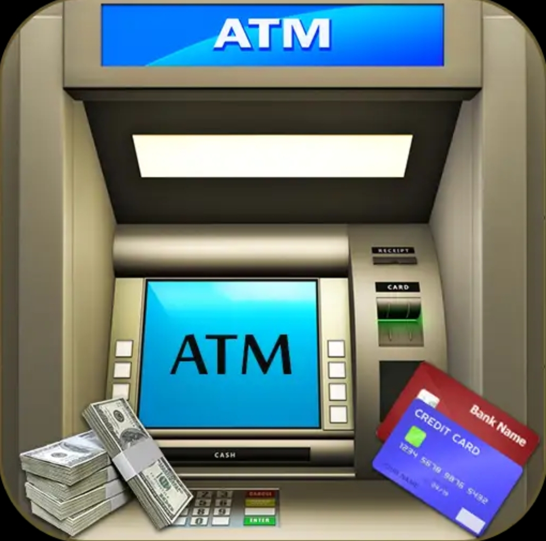 This ATM Simulator game for find out how ATM machine operate by human beign.