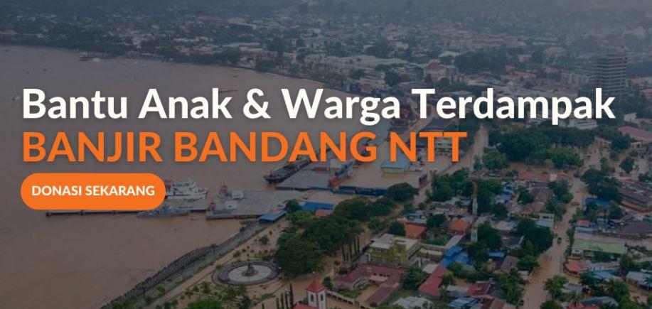 Donasi Banjir Bandang NTT