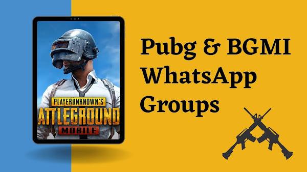 bgmi whatsapp group link
