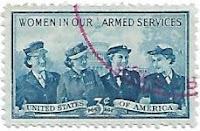 Selo Mulheres das forças armadas dos EUA