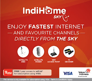 Daftar Harga Paket Internet WIFI IndiHome 2017
