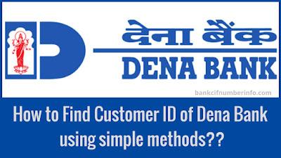 Dena Bank Customer id