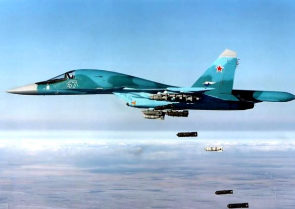 Sukhoi Su-34 specs