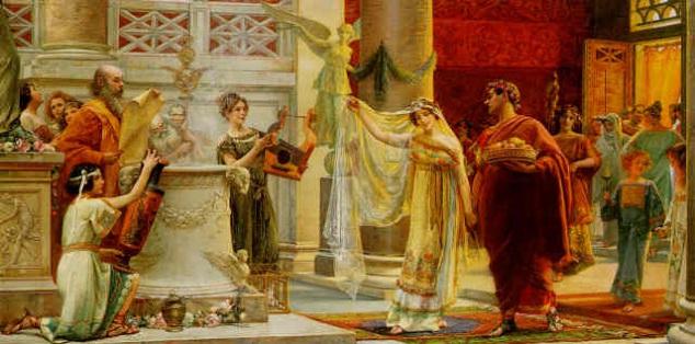 Matrimonio Romano Iustae Nuptiae : El matrimonio en la antigua roma