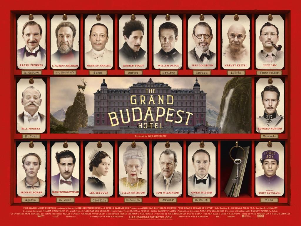 The Grand Budapest Hotel critique cinéma blog Deuxaimes Popcorn Ciné Club