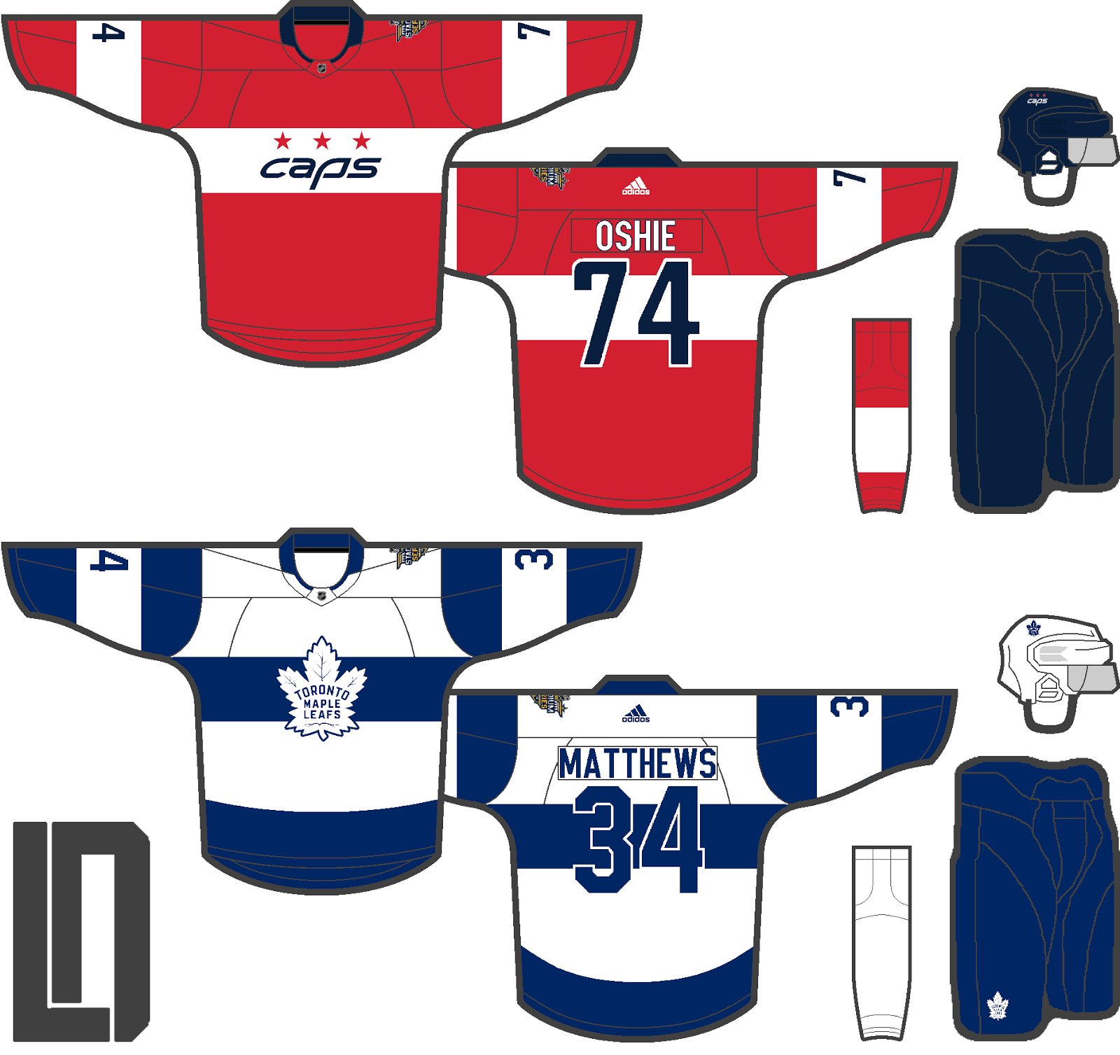 31c1d6931 Edit  Here s two concepts I found that lend to the speculation that the  Leafs are going to use white versions of the Centennial Classic jerseys.