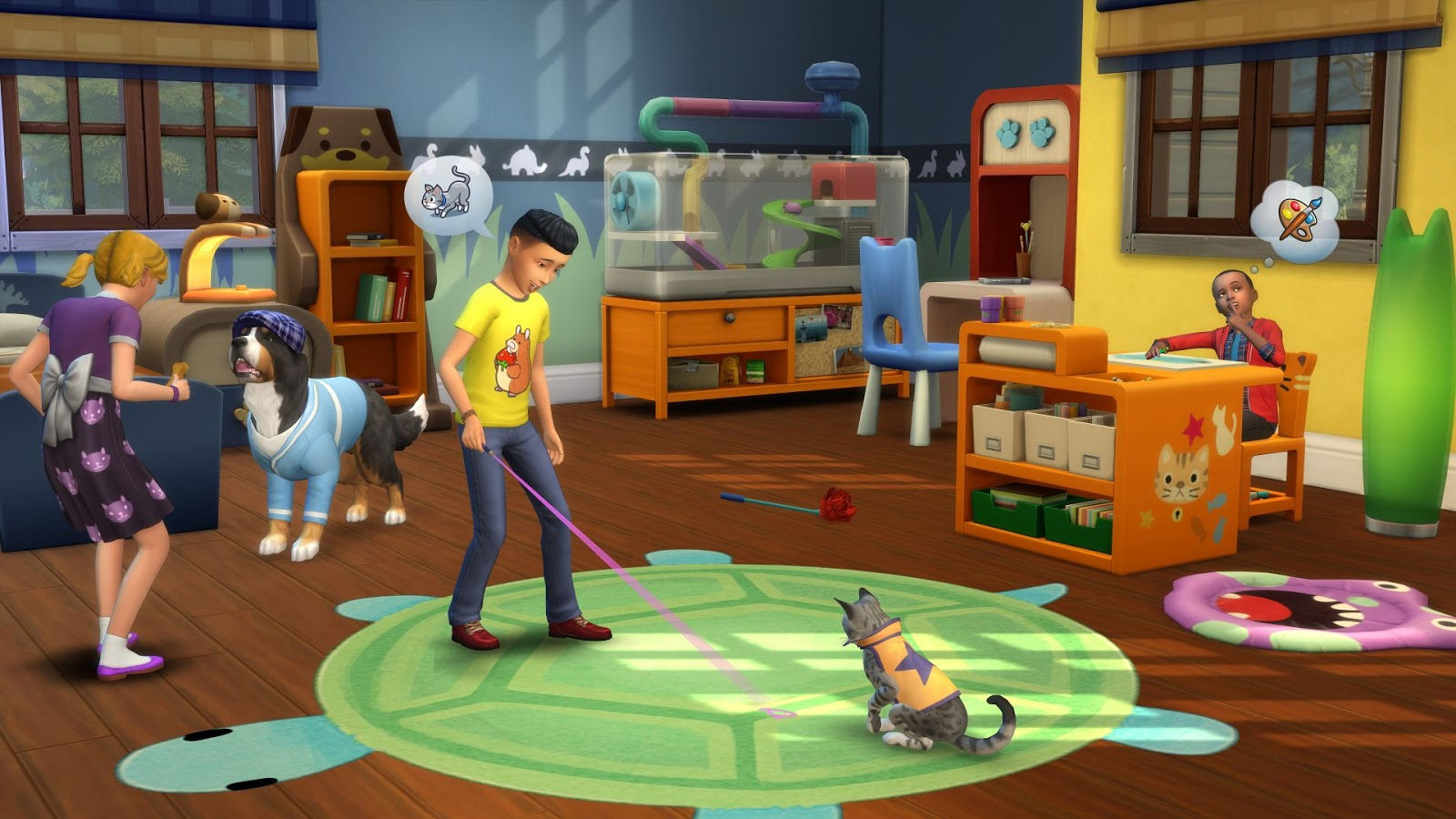 Los Sims 4 Mi Primera Mascota (CODEX) + REPACK PROPER 5 DVD5 + 1 ISO (JPW) 3