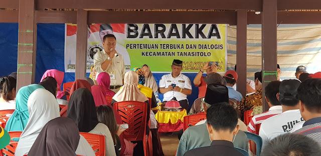 NDB Ajak Pendukungnya di Tanasitolo Pilih BARAKKA