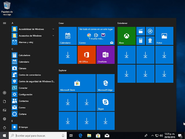 Windows 10 Build 17134.228 RS4 Final Español Latino (Agosto 2018)