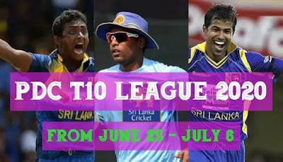 Sri Lanka PDC T10 League 2020: Full schedule, list of teams, captains and live streaming details