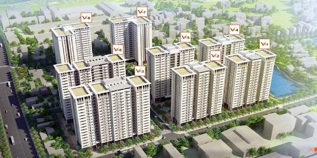 Tổng quan dự án nhà ở xã hội The Vesta Phú Lãm Hà Đông