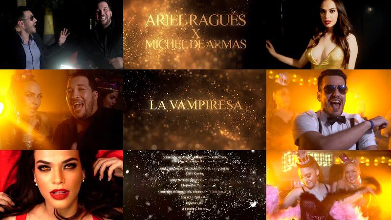 Ariel Ragués & Michel de Armas - ¨La Vampiresa¨ - Videoclip - Directora: Herling Ana Rosell Chapelín. Portal Del Vídeo Clip Cubano. Cuba.