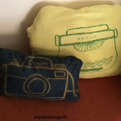 handmade vintage pillows