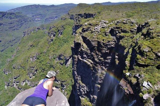 cachoeira do buracão - vale do capão