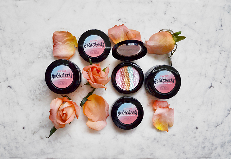 Bold Cheeks rainbow highlighter -  pastel blush illuminator