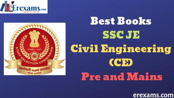 Best Books SSC JE Civil Engineering (CE) for Pre and Mains