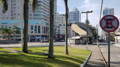 Ponto turístico Praça da Paz Itapema