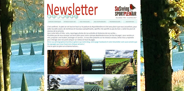 La Newsletter du club / Sport plein air Marly-le-roi