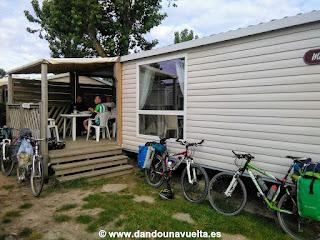 Mobil home en camping en La Velodyssee, Francia