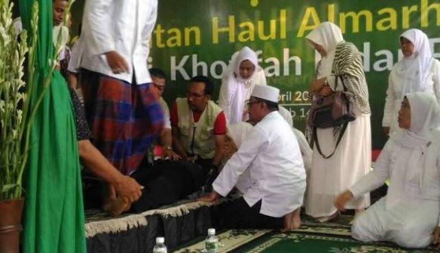 Subhanallah, Ustaz Jakfar Abdurrahman Wafat Saat Lantunkan Ayat-ayat Suci Al-Qur'an di Rumah Mensos