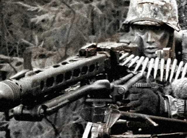 MG-42 with muzzle brake worldwartwo.filminspector.com