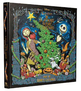 Insight Editions The Nightmare Before Christmas Pop-Up Advent Calendar