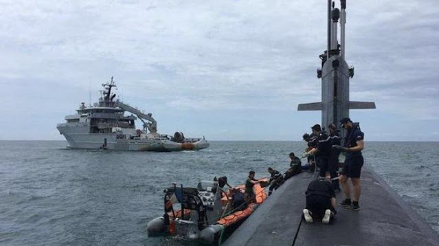 Muncul di Selat Sunda Sehari Sebelum KRI 402 Hilang Kontak, Kapal Selam Prancis Ini Ramai Dibahas