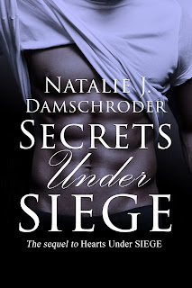 Secrets Under SIEGE cover, romantic adventure