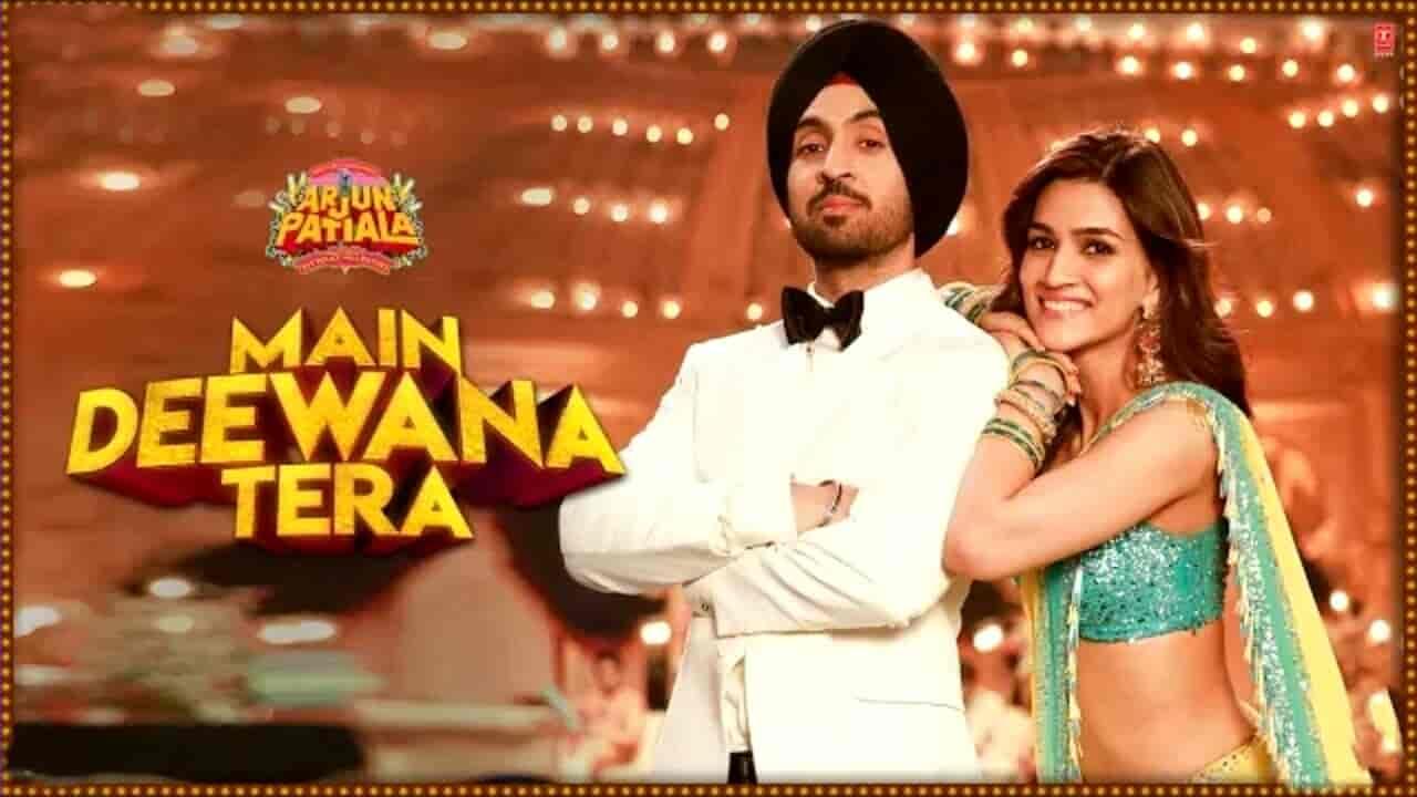 Letest song main Deewana Tera from movie Arjun patiala
