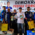 Fraksi Partai Demokrat Lakukan Penyemprotan Disinfektan  Di Kelurahan Pasar Ambacang