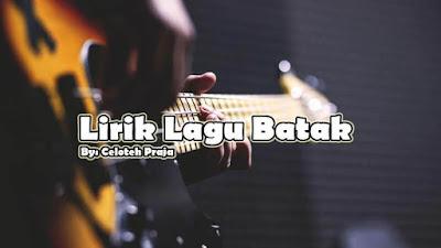 Lirik Lagu Batak, Ho Ma Donganku Ingkon Ho Hasian Oleh Romantis Trio
