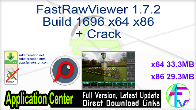 FastRawViewer 1.7.2 Build 1696 x64 + Crack