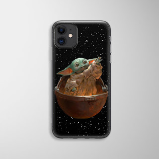 baby yoda cell phone case
