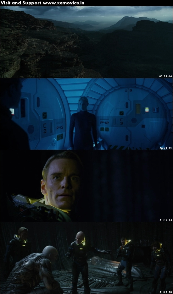 Prometheus 2012 Dual Audio Hindi 480p BluRay