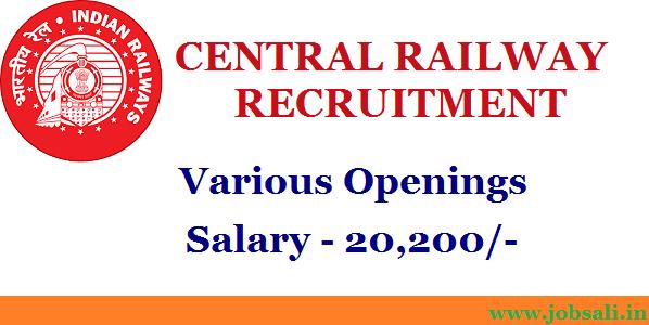 Indian Railway Vacancy, Railway Jobs, Railway Recruitment Board