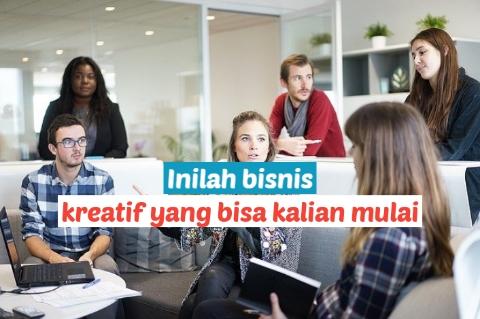 Contoh bisnis kreatif