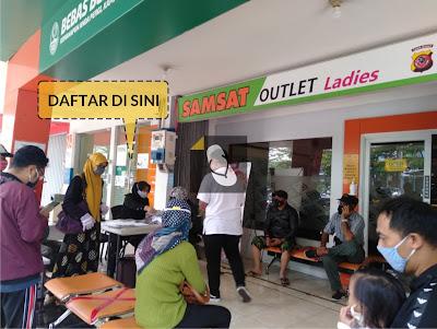 Prosedur Pembayaran Pajak STNK 1 Tahun di Samsat Outlet