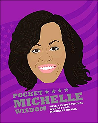 michelle obama pocket wisdom guide book