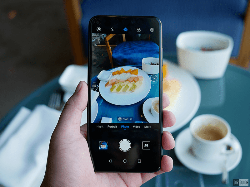 The camera UI