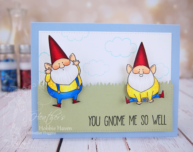 Heather's Hobbie Haven - Color Wednesday - You Gnome Me 2