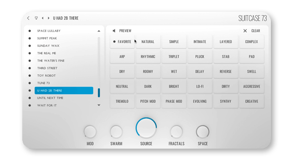 Hammers and Waves Skybox Audio Preset meta tagging insterface
