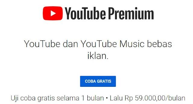 Cara Membuat Youtube Jadi Premium