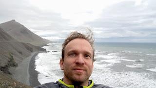Sven in Iceland East Coast