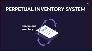 What is the perpetual inventory system example in Hindi?