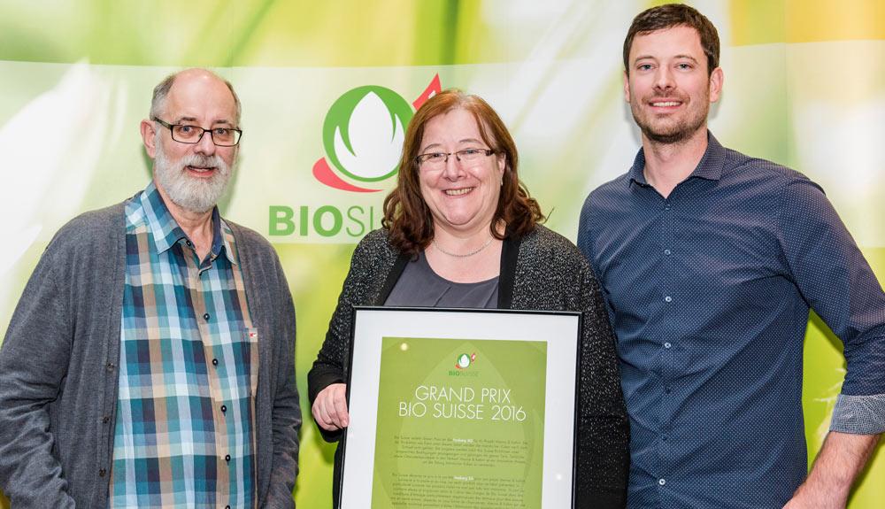 Grand Prix Bio Suisse Gewinner: «Der Konsument unterstützt unser Projekt.»