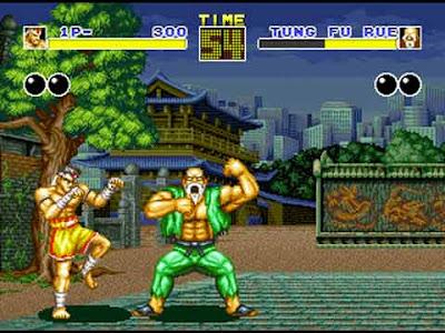 Tung Fu Rue in Fatal Fury in sala giochi