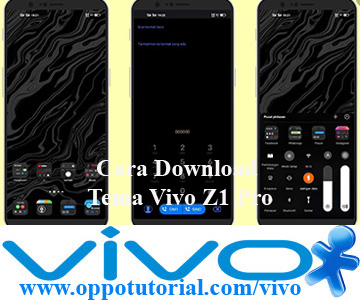 Cara Download Tema Vivo Z1 Pro
