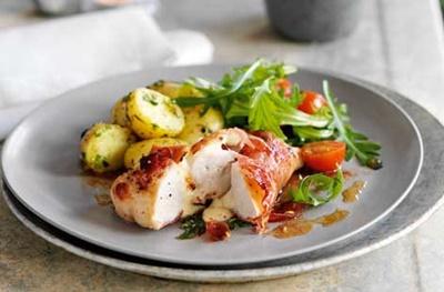 Chicken Mozzarella And Parma Ham