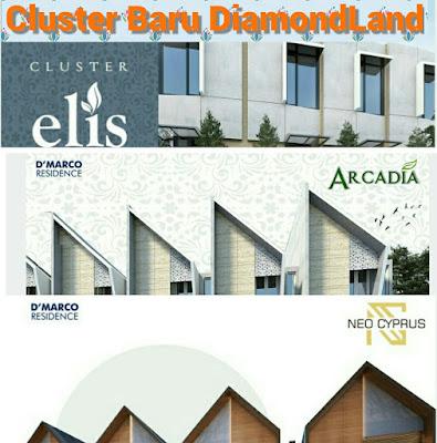 cluster baru diamond land